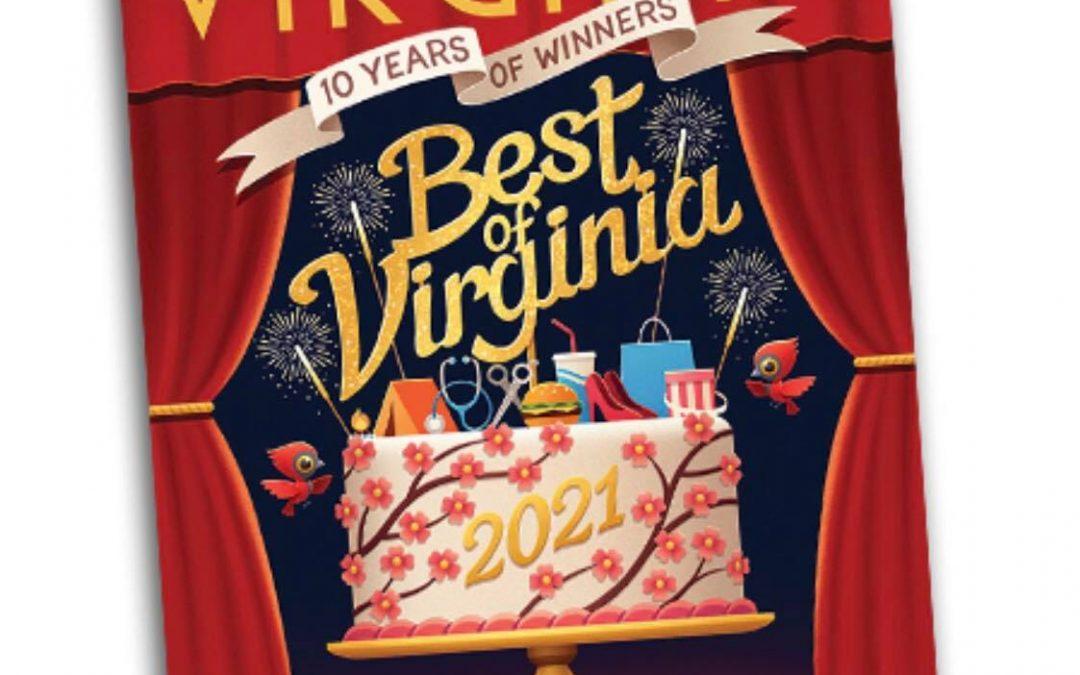 Jones & DeShon named Best Orthodontic Practice in Virginia Living magazine
