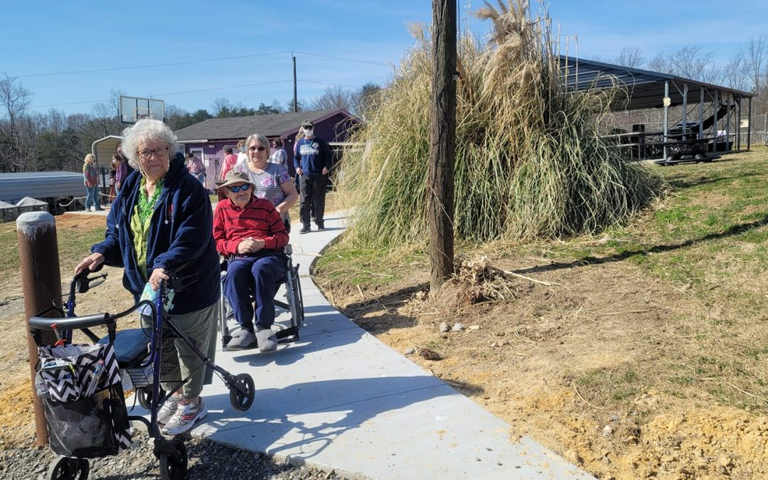 Drs. Jones & DeShon help enhance accessibility at Infinity Acres Ranch